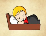 Dibujo Hora de ir a dormir pintado por annie9000