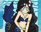 Dibujo Sirena 3 pintado por Eileen8989