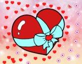 Corazón regalo