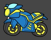 Moto deportiva