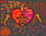 Corazón estrella