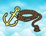 Cuerda y áncora