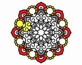 Dibujo Mandala reunión pintado por ARMADA