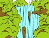 Dibujo Cascada pintado por piliannis1