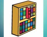 Dibujo Librería pintado por nenita5