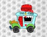 Food truck de hamburguesas
