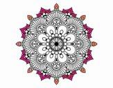 Mandala destello floral
