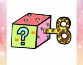 Dibujo Caja sorpresa pintado por Lucia626