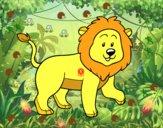 León adulto