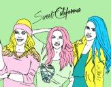 Alba Rocío y Sonia de Sweet California