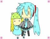 Miku y Kasane Chibi
