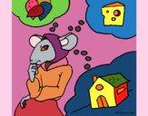 Dibujo La ratita presumida 4 pintado por  PRIRARITY