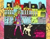 Barbie y su perrita