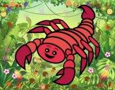 Escorpión feliz