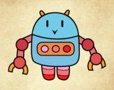 Robot con pinzas