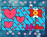 Hola con amor
