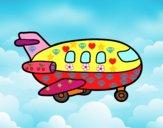 Avión de madera