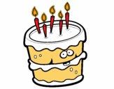 Dibujo Pastel de cumpleaños 2 pintado por carlos11