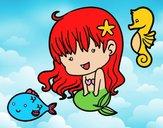 Sirenita y sus amigos