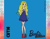 Dibujo Barbie Fashionista 3 pintado por carrusel