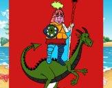 Caballero San Jorge y el dragon