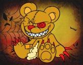 Dibujo Osito monstruoso pintado por Joer