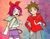 Rin y Len Kagamine Vocaloid