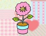 Dibujo Una flor de primavera pintado por noradelrio