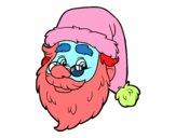Cara de Santa Claus