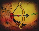 Flecha con arco
