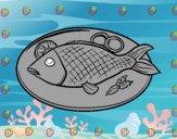 Plato de pescado