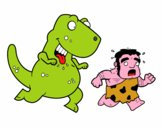 Dinosaurio cazador