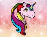 Dibujo Un unicornio pintado por DulceADC