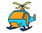 Un Helicóptero