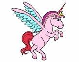 Dibujo Unicornio joven pintado por missy1124