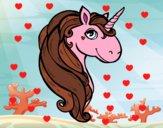 Dibujo Un unicornio pintado por Joddy