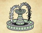 Dibujo Fuente pintado por gress_hh
