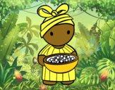 Joven africana