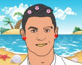 Cristiano Ronaldo cara