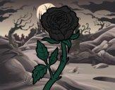 Dibujo Rosa silvestre pintado por Picasa