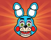 Cara de Toy Bonnie de Five Nights at Freddy's