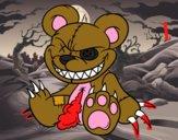 Dibujo Osito monstruoso pintado por Jese555