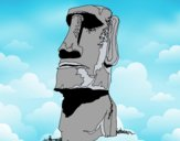 Moái de la Isla de Pascua