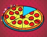 Pizza de pepperoni