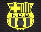 Dibujo Escudo del F.C. Barcelona pintado por Joseito123