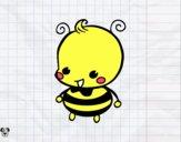 Dibujo Bebé abeja pintado por minie03