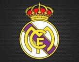 Dibujo Escudo del Real Madrid C.F. pintado por Socovos