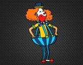 Dibujo Payaso con pantalones anchos pintado por Socovos