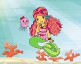 Sirena y medusa