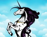 Dibujo Unicornio mágico pintado por Socovos